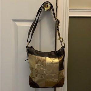 Coach patchwork bag F10387